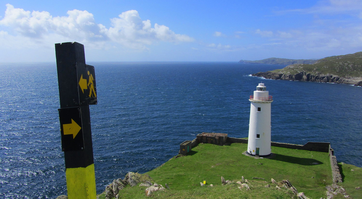 Wanderlust Irland Inselwandern Bere Island Leuchtturm