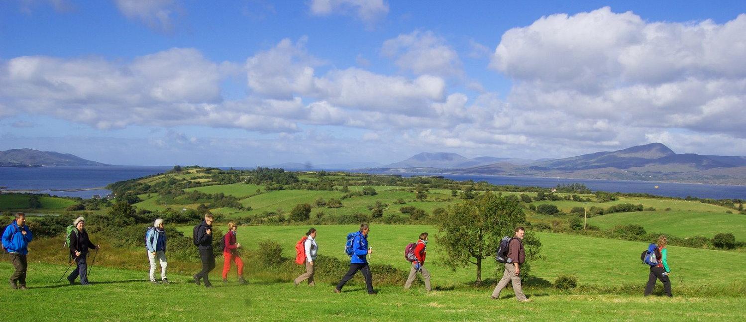 Irland Wandern Whiddy Island