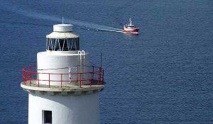 Irland Inselwandern Bere Island Leuchtturm