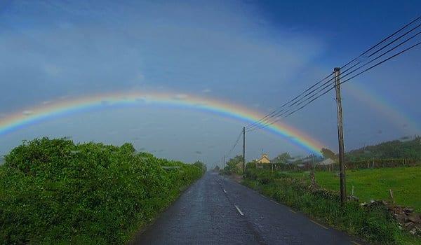Wanderlust Irland Regenbogen