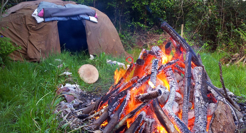 Wanderlust Irland Schwitzhütte Natur Retreat