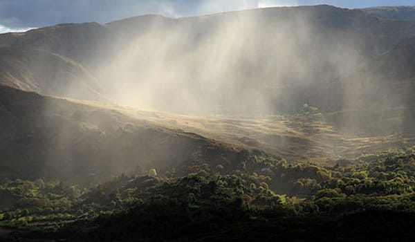 Wanderlust Irland Regenfront Glen Peter Zöller