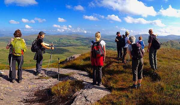 Wanderlust Irland Wanderwochen Panorama