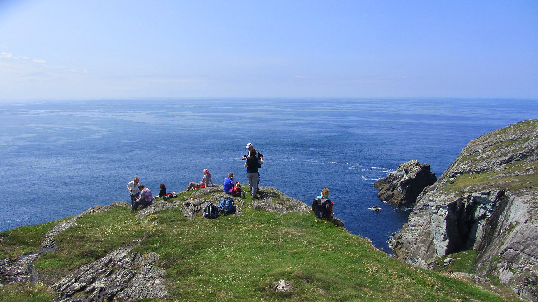 Irland Wandern am Atlantik