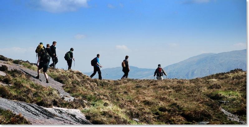 Irland Naturwandern Umweltkodex