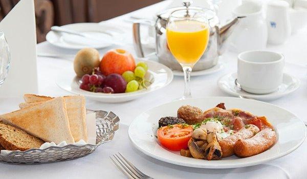 Wanderlust Irland Westlodge Frühstück