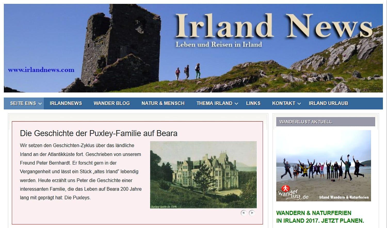 Wanderlust Irland Irlandnews Blog