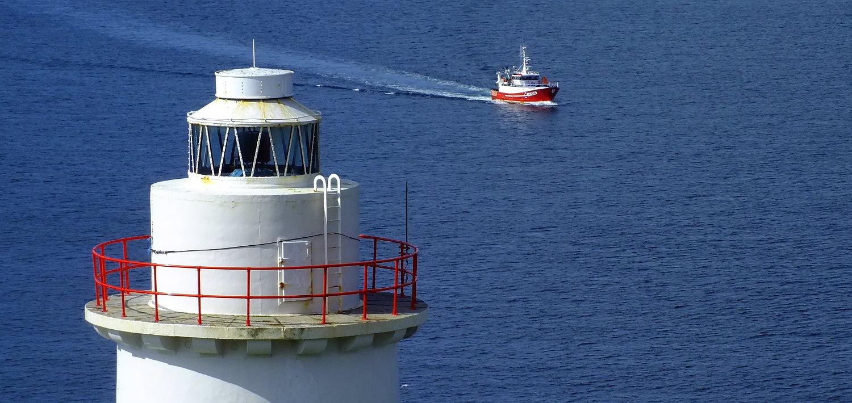 Irland Inselwandern Leuchtturm