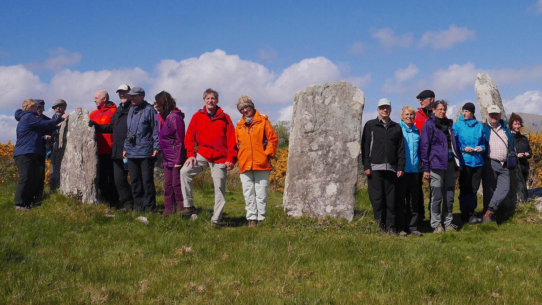 Wanderlust Irland Wandern Steinkreis Castletownbere