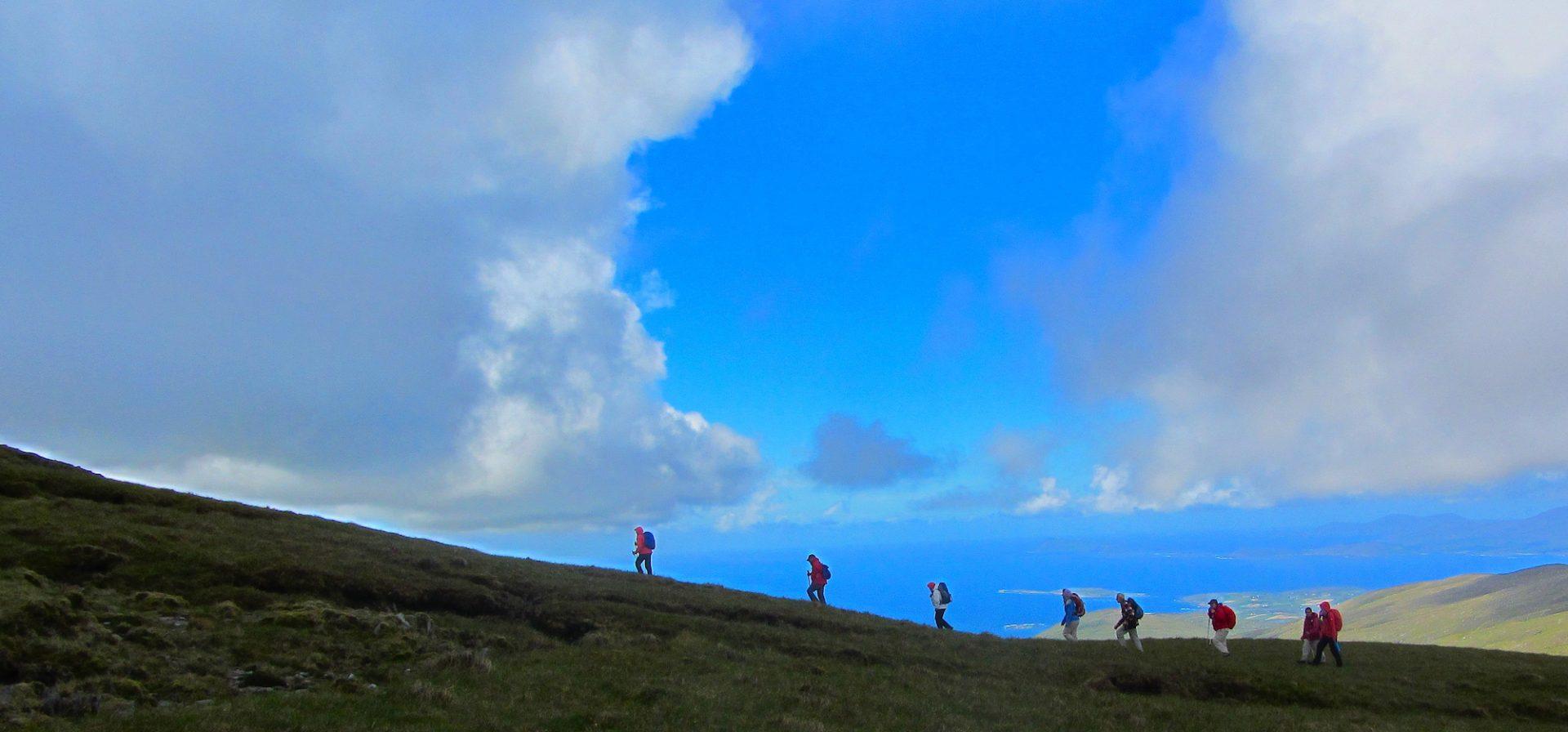 Bergwandern Irland Wanderlust