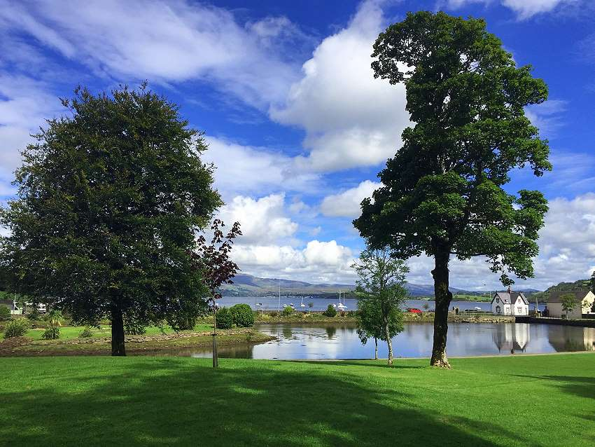 Wanderlust Irland Westlodge Meeresblick Segelschule