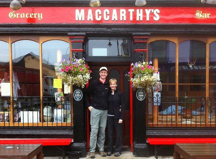Wanderlust Irland Castletownbere Pub
