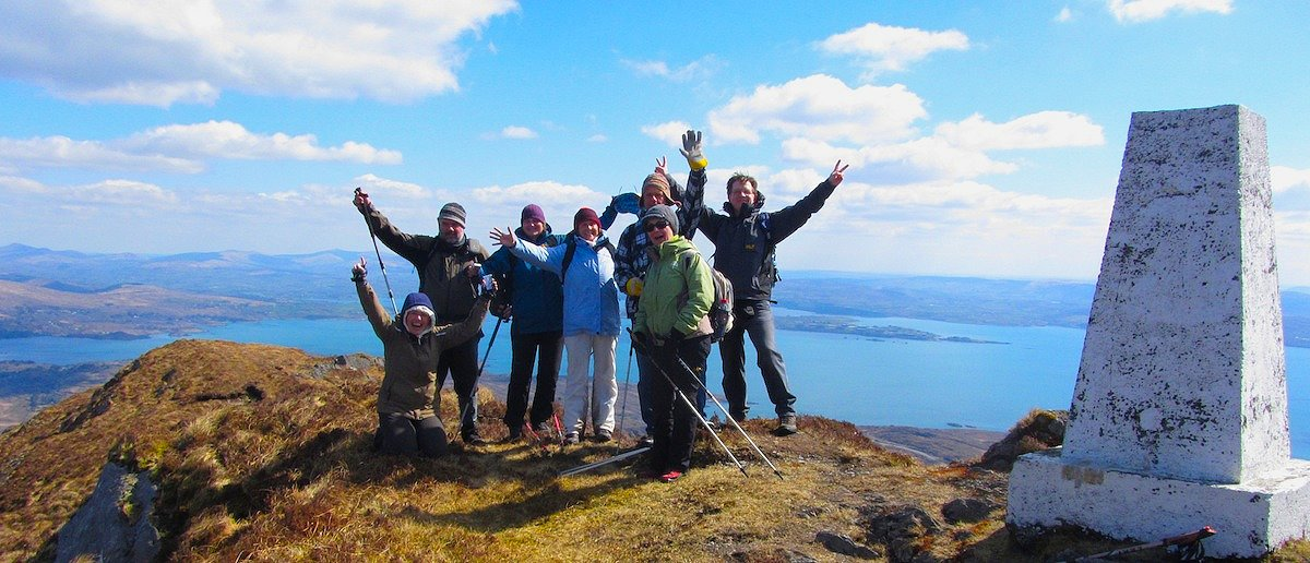 Wanderlust Irland Wandern Sugar Loaf