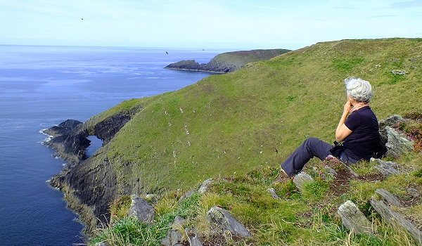 Irland Inselwandern Cape Clear