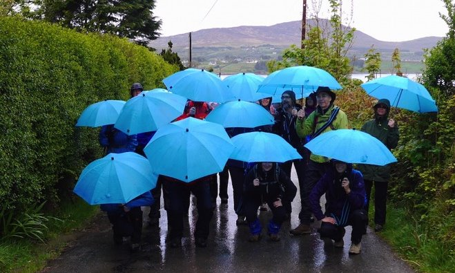 Wanderlust Irland Gästegruppe Schreiner
