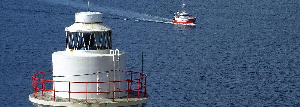 Wanderlust Irland Inselwandern Leuchtturm