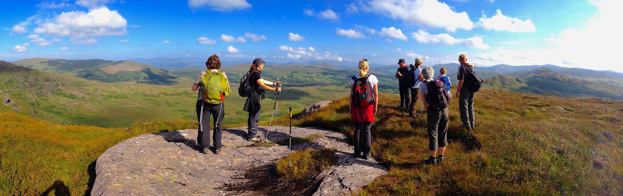 Wanderlust Irland Wandern Panorama