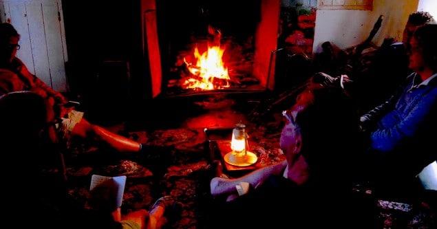 Irland Natur Retreat Feuer