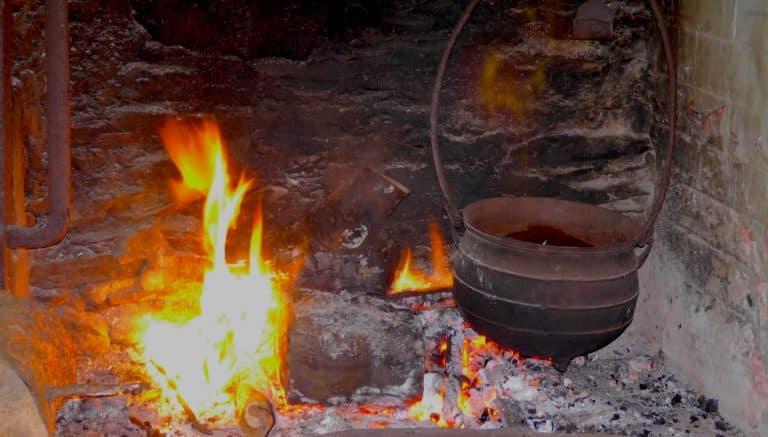 Wanderlust Natur Retreat Feuerstelle