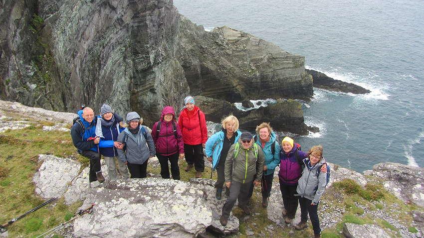 Wanderlust Irland Markus Bäuchle - Gruppenfoto Gästereaktionen