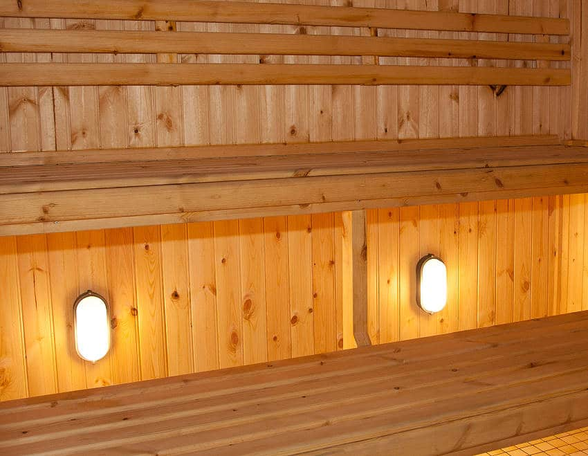 Wanderlust Irland Westlodge Sauna Steam Room
