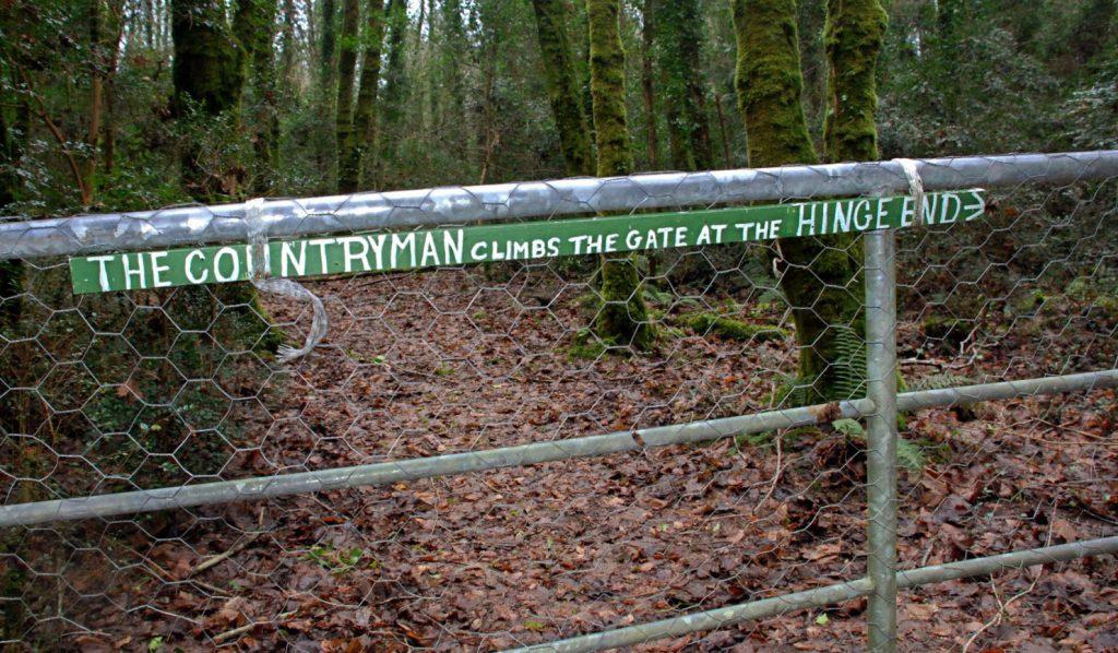 Wegerecht Irland