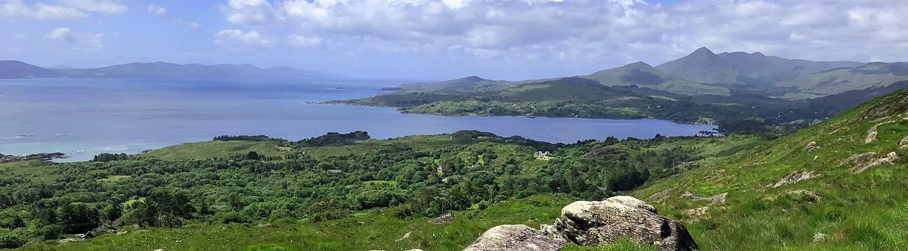 Wandern und Singen in Südwest Irland 2020 - Bantry Bay